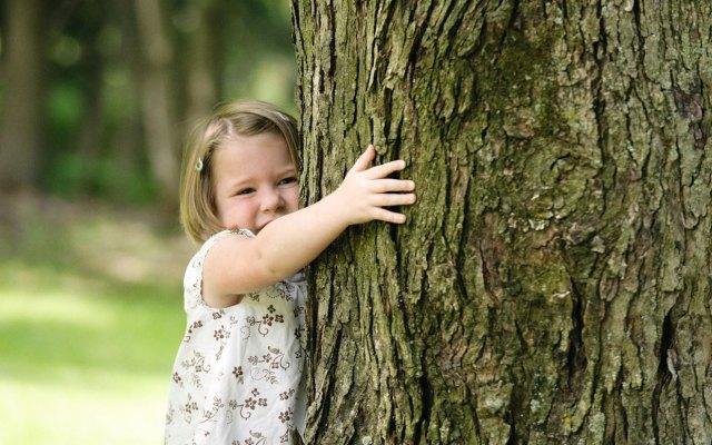 "Photo credit: Parade Magazine (parade.condenast.com) ""Have You Hugged Your Trees Today"""