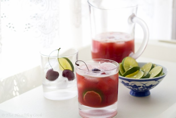 Cherry Limeade – Χυμός λάιμ με κεράσια