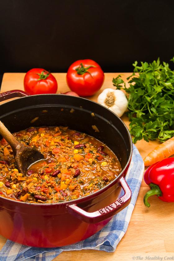 Chili Con Carne – Τσίλι κον κάρνε