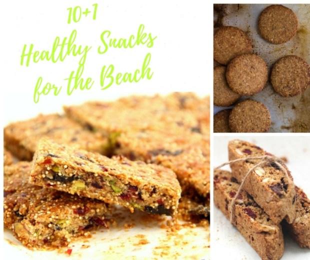 Healthy-Snacks-Beach - Υγιεινά-Σνακ-Παραλία