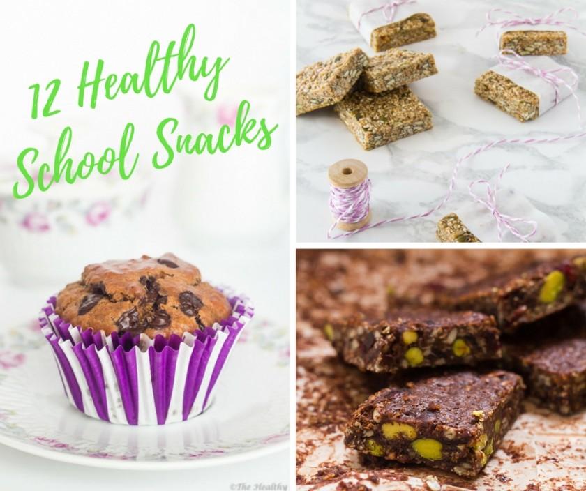 12 Healthy School Snacks - 12 Υγιεινά Σνακ για το Σχολείο