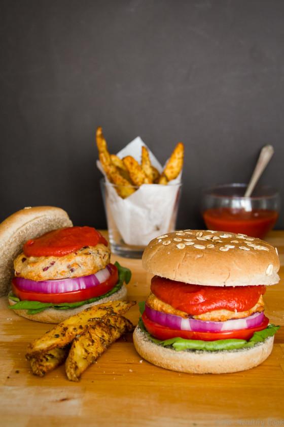 Spicy Chicken Burger – Πικάντικο Burger με Κοτόπουλο