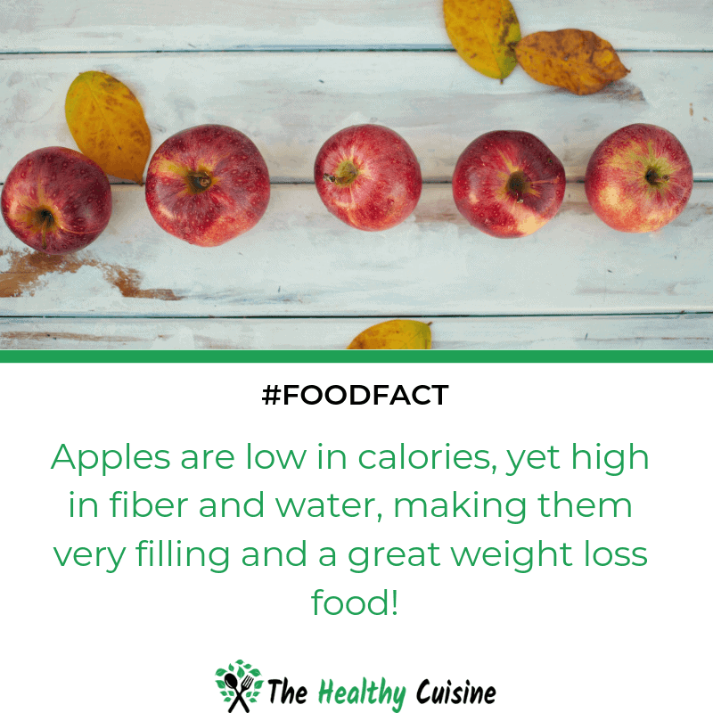 Apples Are A Great Weight Loss Food