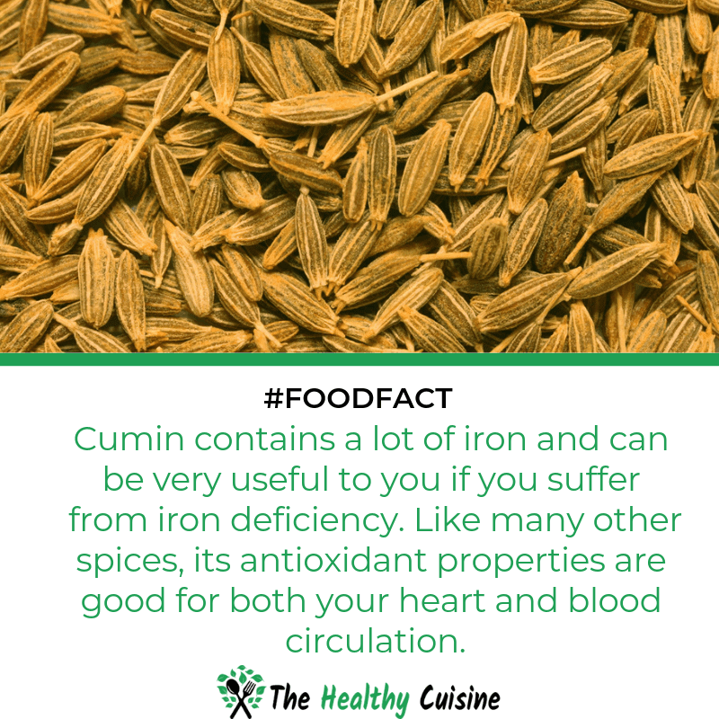 Cumin Contains A Lot Of Iron And Is Good For Your Heart