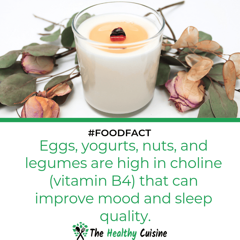 Eggs Yogurts Nuts Can Improve Mood And Sleep