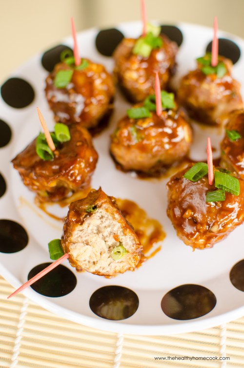 These Asian Turkey Meatballs are always a big hit. Sticky, sweet, addictive, you won't believe how much flavor is packed into these little balls!