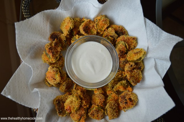 This recipe for Baked Pickle Chips is a skinny option for those looking for a fun appetizer or snack to enjoy.