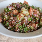 Red Quinoa Tabouli