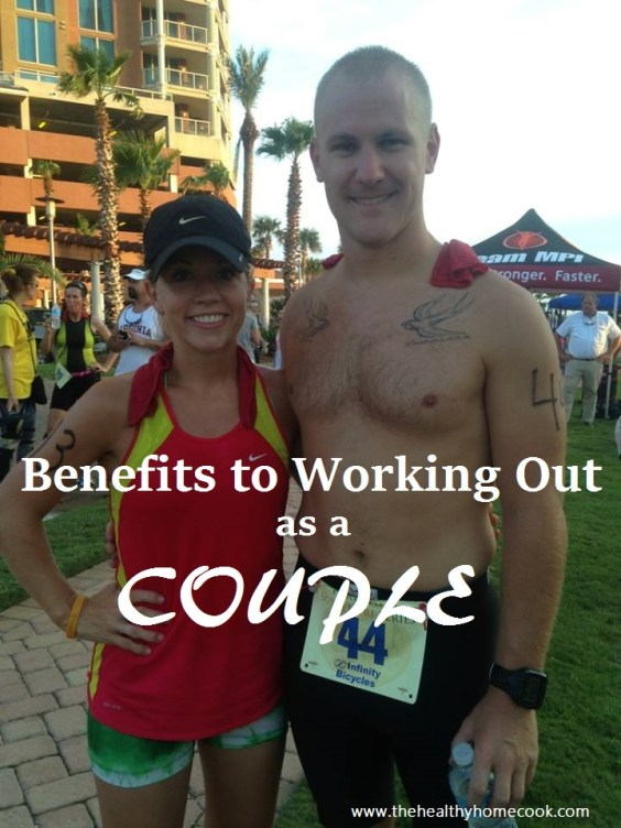 Make your health and relationship a priority. The couple that sweats together stays together!