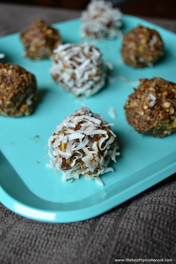 These Nutty Lemon Energy Balls are perfect for a quick snack or a wholesome sweet treat.