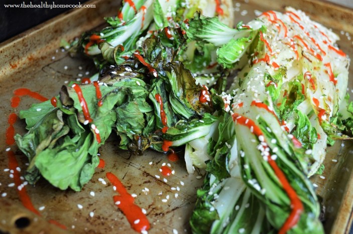 This Grilled Sesame Bok Choy is a must make. The smokey, charred leaves and tender stalks are the perfect complement to any meal.