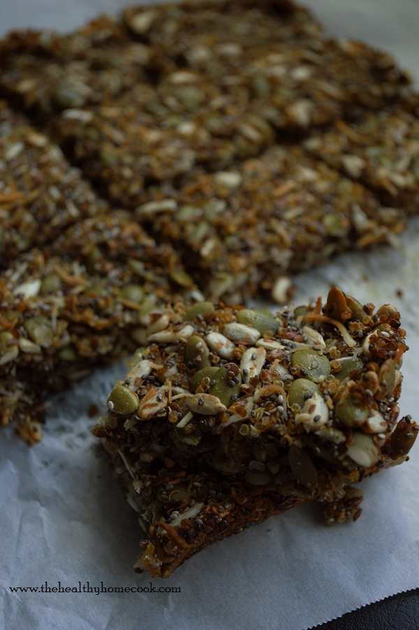 These Super Seed Bars are easy, healthy and a sure snack everyone will enjoy. Make them to munch on today, tomorrow, and FOREVER!!