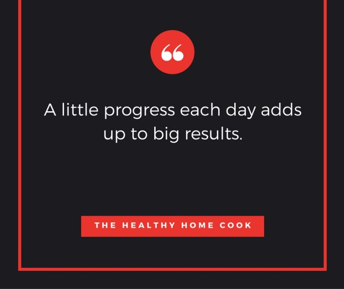 Today is a perfect day for another Motivational Monday post from The Healthy Home Cook.