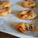 Sweet Potato Chocolate Chip Chai Cookies