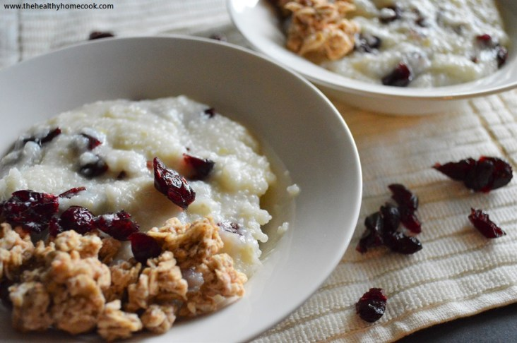 This recipe for Sweet Southern Grits is the perfect way to wake up in the morning.