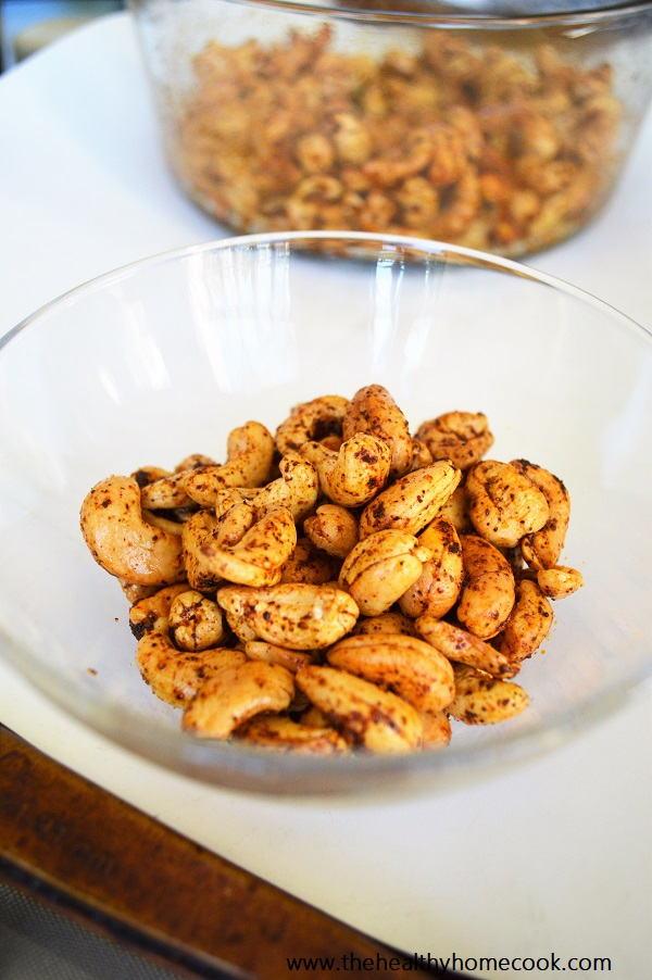 These Chili Cayenne Cashews are an addicting snack with a kick!