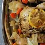 Ad: {Slow Cooker} Herb & Citrus Cornish Hen