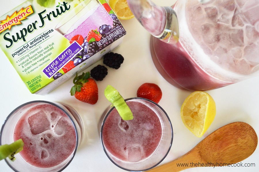 Treat yourself with this Super Fruit Agua Fresca and stay on track with your health throughout the holidays!