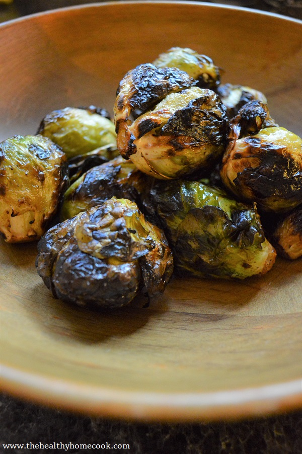 Invite everyone you know! You will definitely want to share this recipe for Grilled Brussels Sprouts with them.