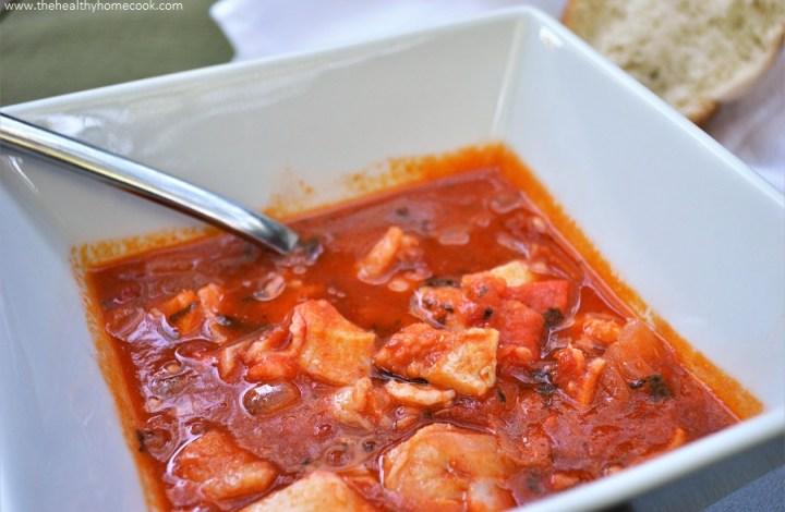Skinny Seafood Stew