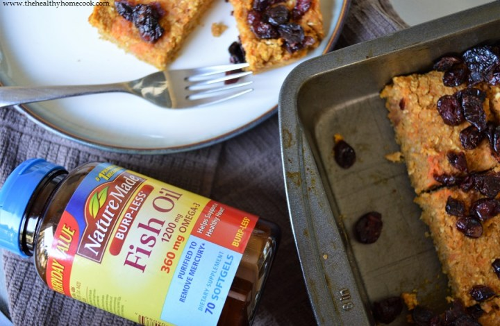 Sweet Potato Cranberry Breakfast Bars