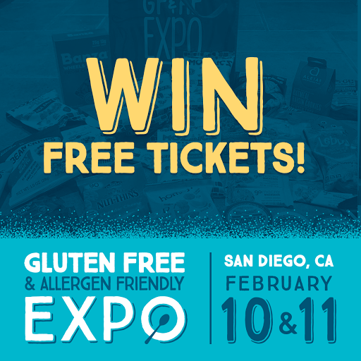 Check out top food & nutrition trends coming out at the Gluten Free & Allergen Friendly Expo in San Diego, February 10th-11th.