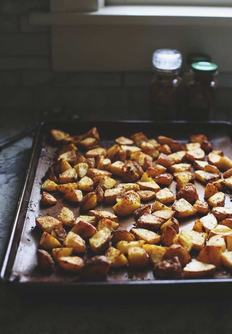 Repetition of an old THM classic with a tutorial on how to make the perfect fried potatoes.  With two options if you are in a hurry or have more time!  They're crispy on the outside and soft on the inside with a delicious, flavorful coating.