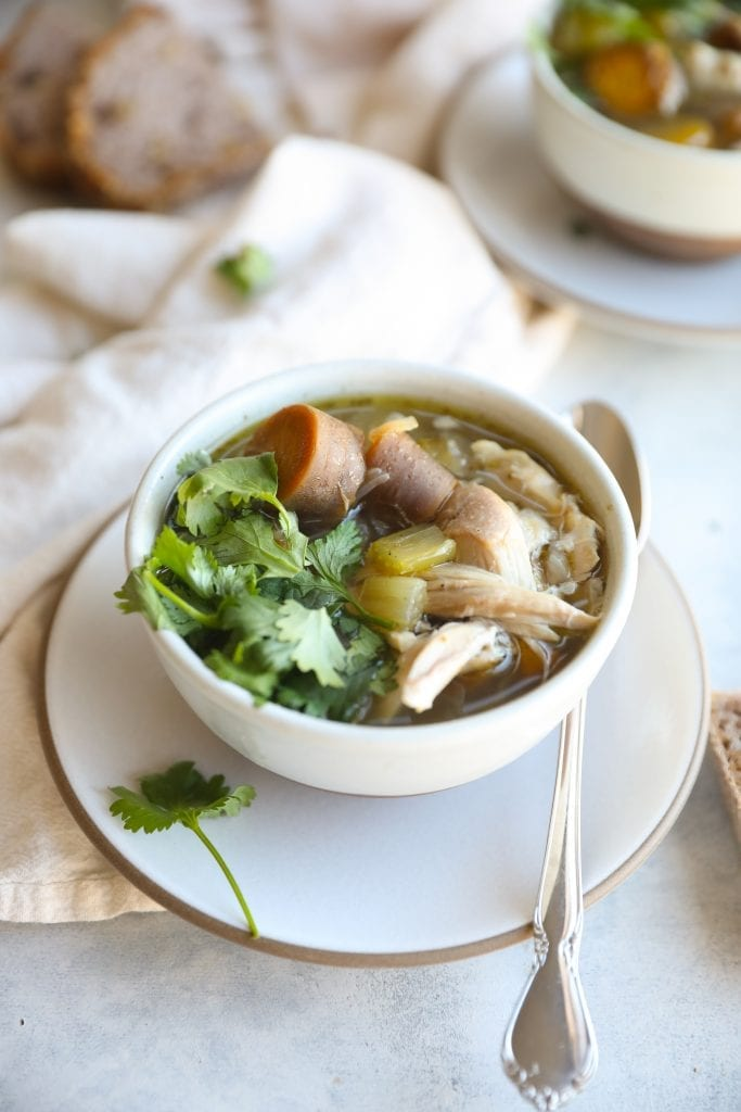 Day After Thanksgiving Soup [Turkey Carcass Soup]