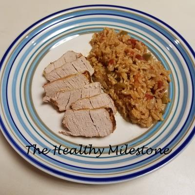 rice and pork casserole