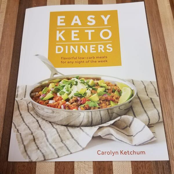 easy keto dinners cookbook by carolyn ketchum