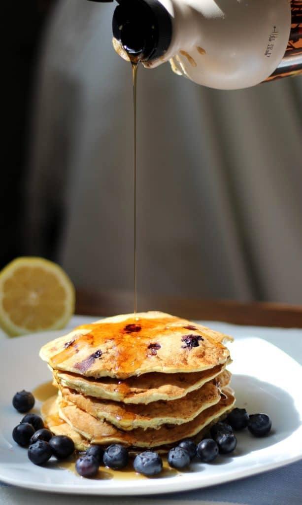 Ricotta Pancakes Syrup