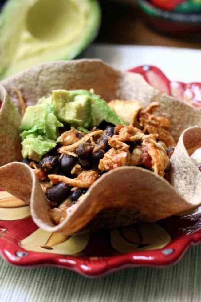 Tortilla bowl (1)