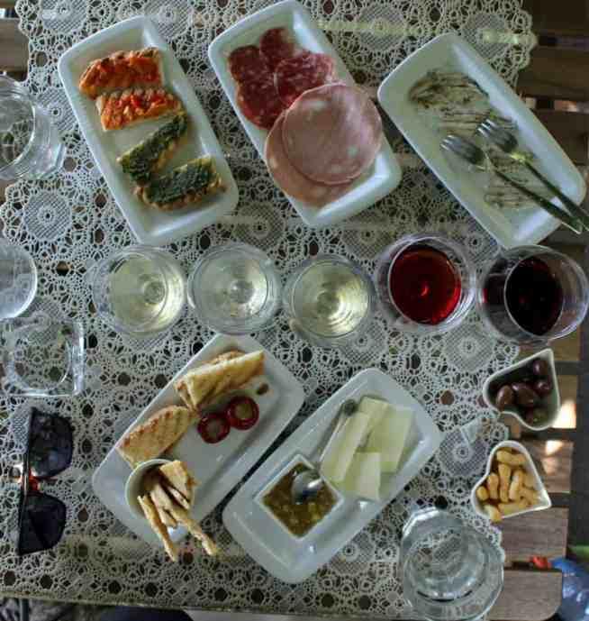 WIne tasting foods 3