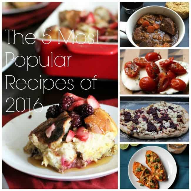 5 Most Popular Recipes of 2016