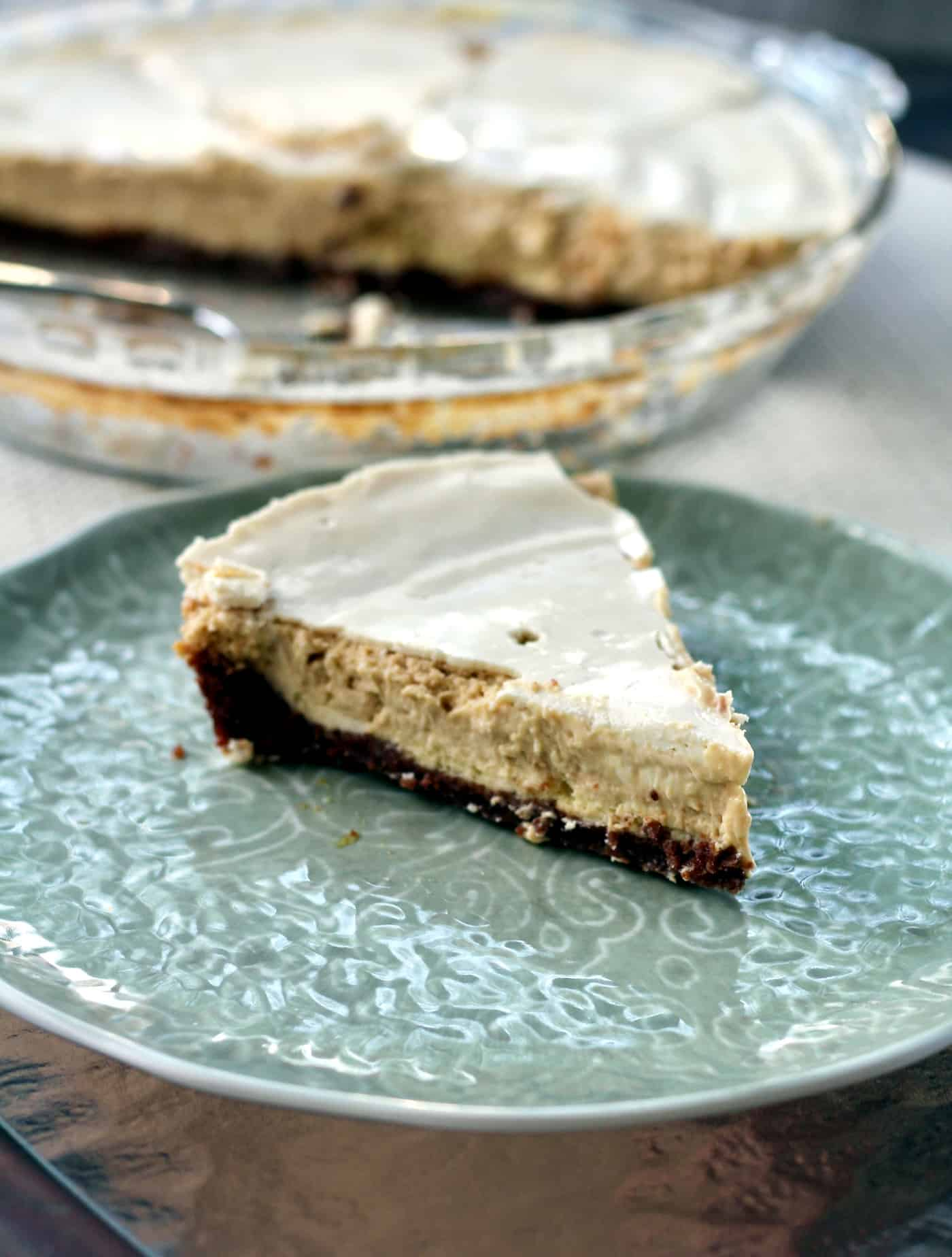 Sinfully Delicious Kahlua Cream Cheese Pie