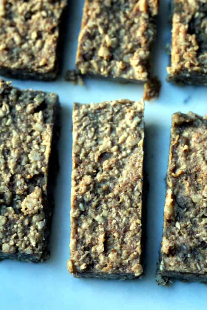 Healthy Maple Almond Snack Bars