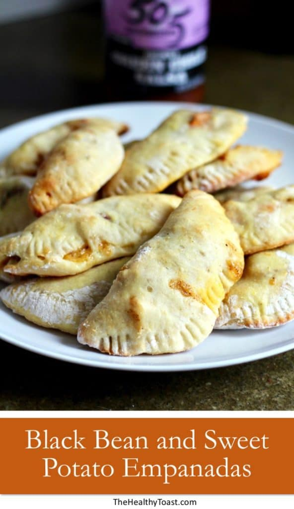 Sweet Potato and Black Pean Empanadas Pinterest image