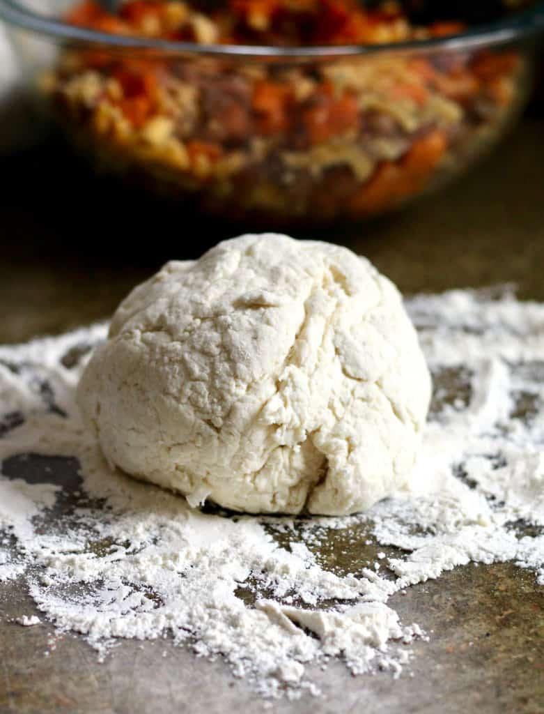 Healthy Empanada Dough (made with Greek yogurt)