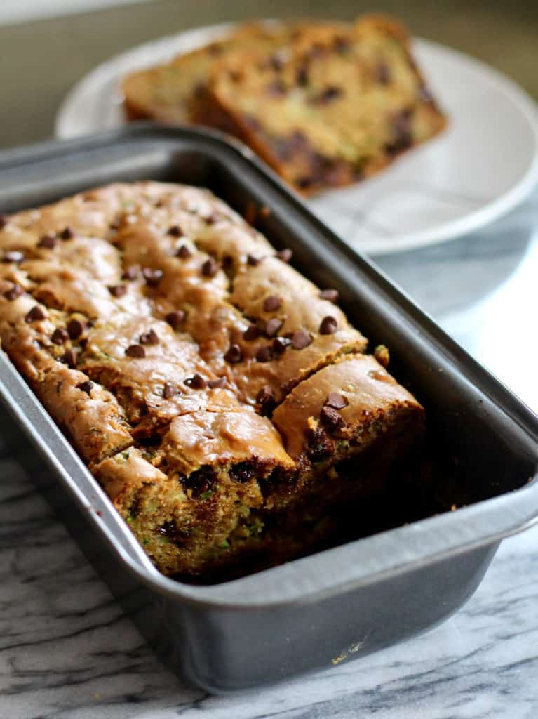Low-Carb, High Protein Zucchini Bread