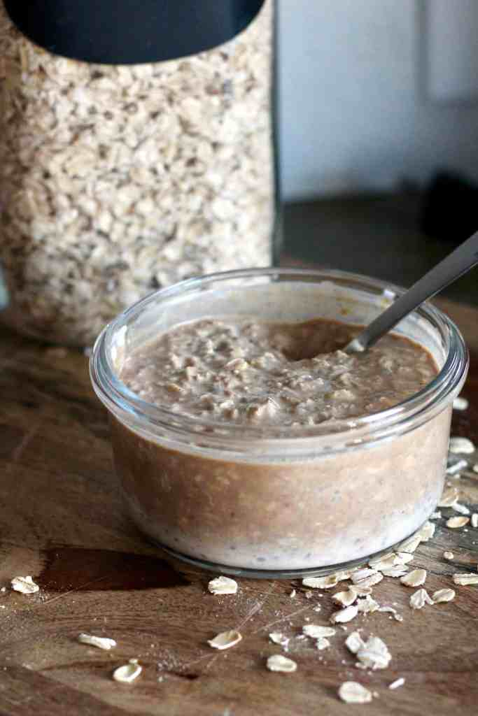 Protein Cinnamon Roll Overnight Oats