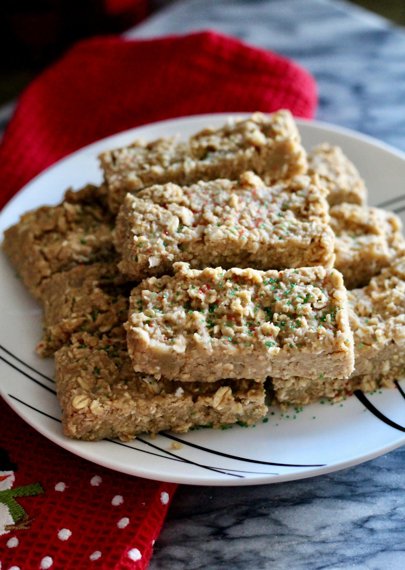 6-Ingredient Sugar Cookie Protein Bars