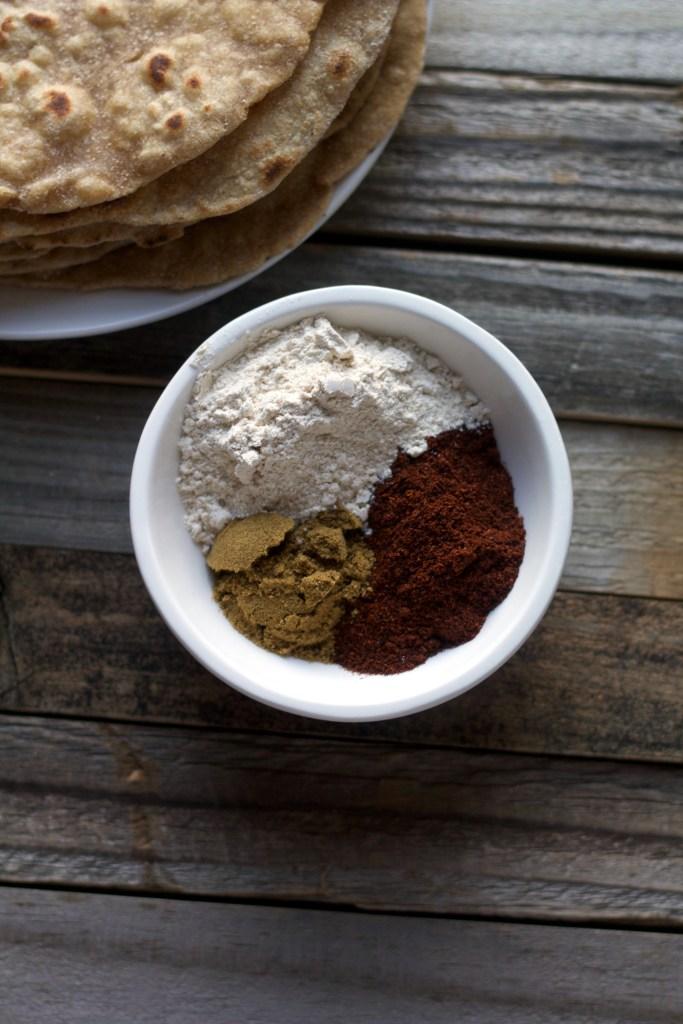 Spices for homemade enchilada sauce