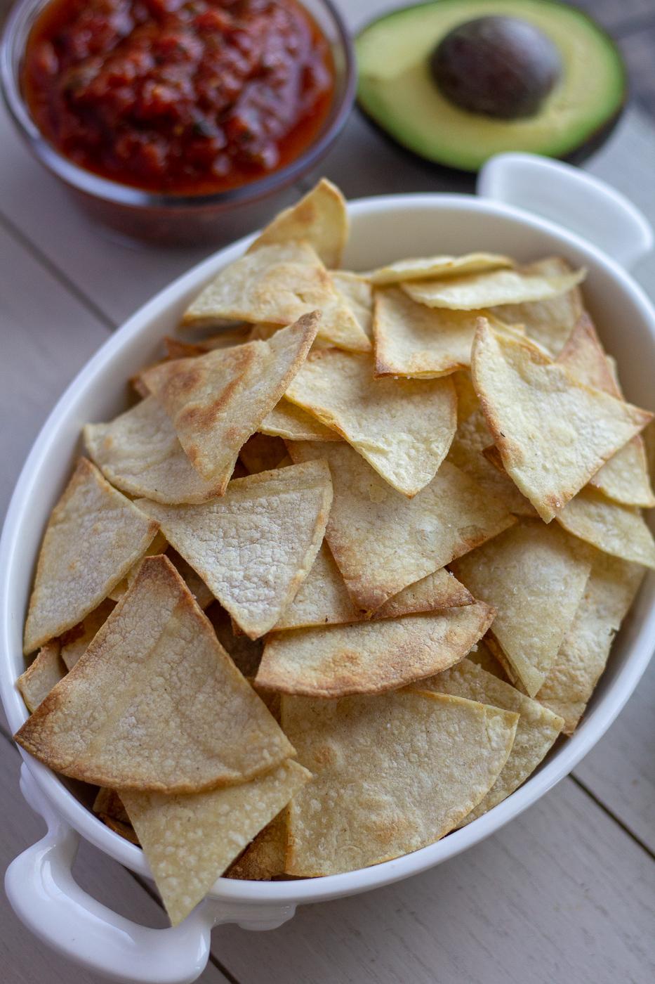 Avocado Oil Baked Tortilla Chips