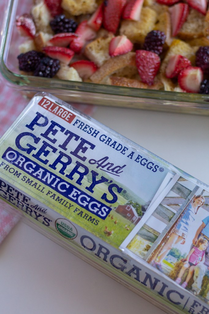 Carton of Pete and Gerry's Organic Eggs