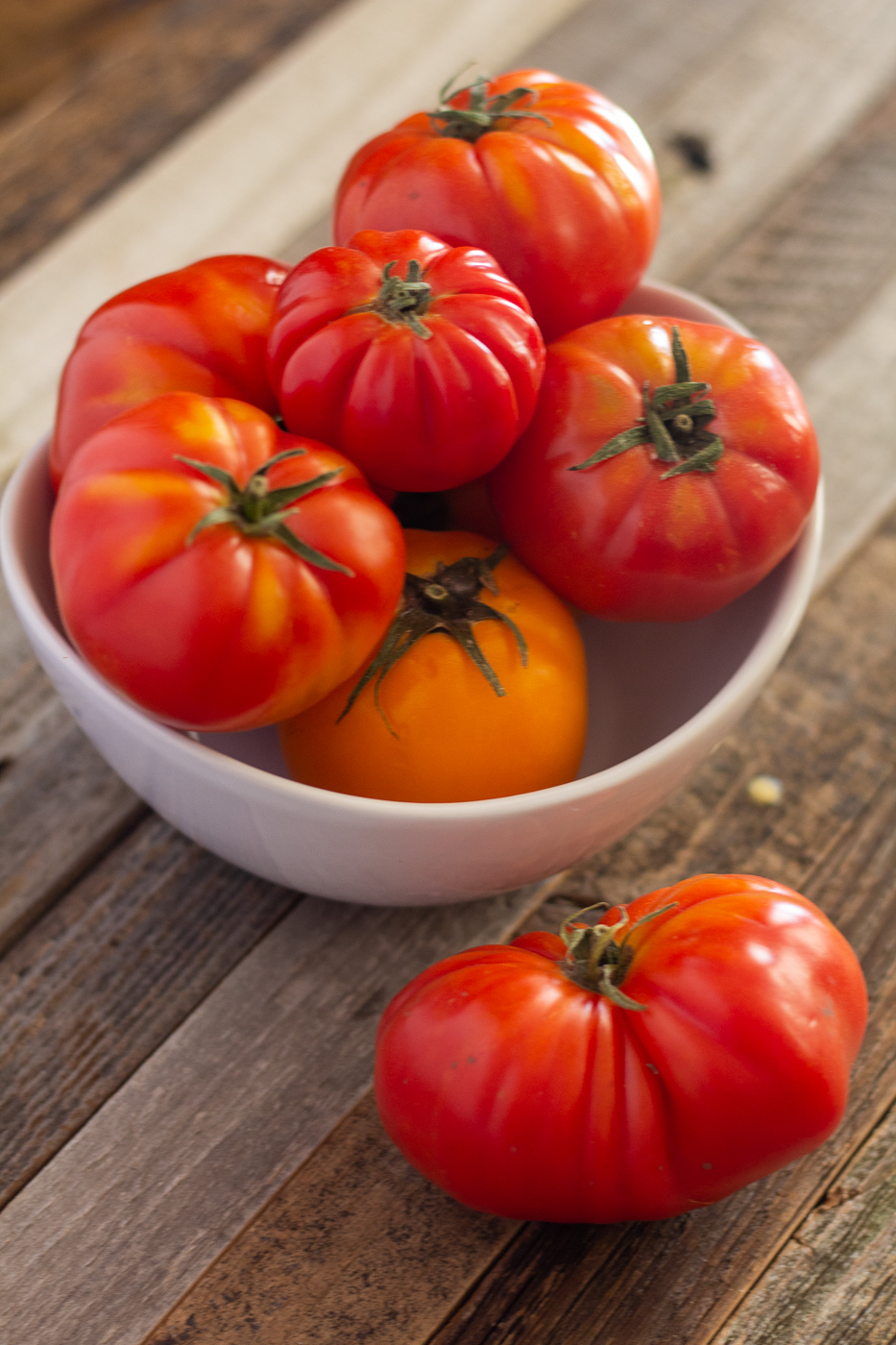 Meet Your Ingredients: Heirloom Tomatoes