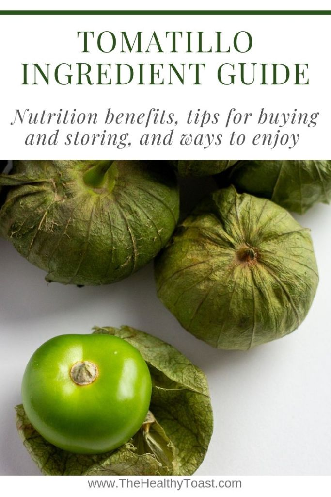 Tomatillo ingredient guide pin image