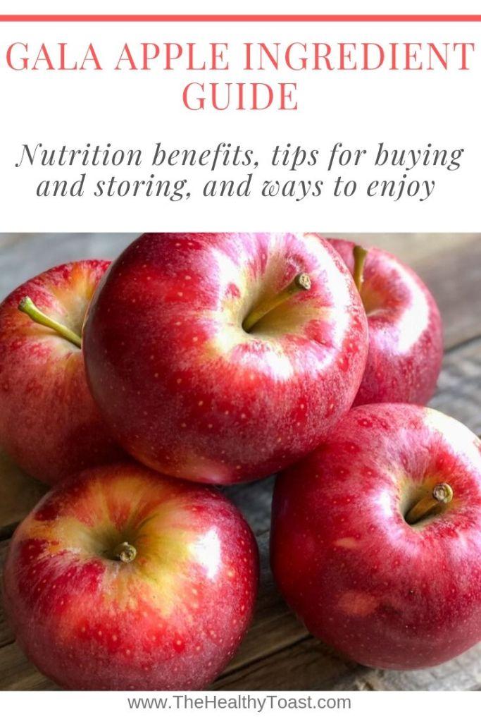 Gala apple ingredient guide pin image