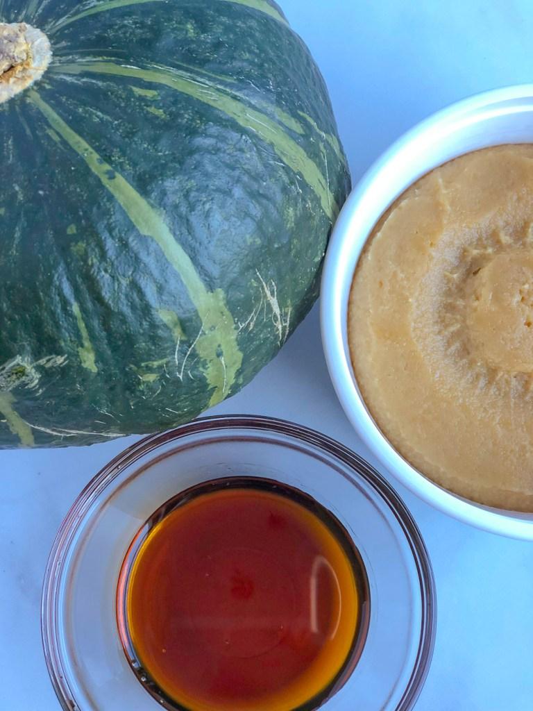 Miso Glazed Roasted Kabocha Squash