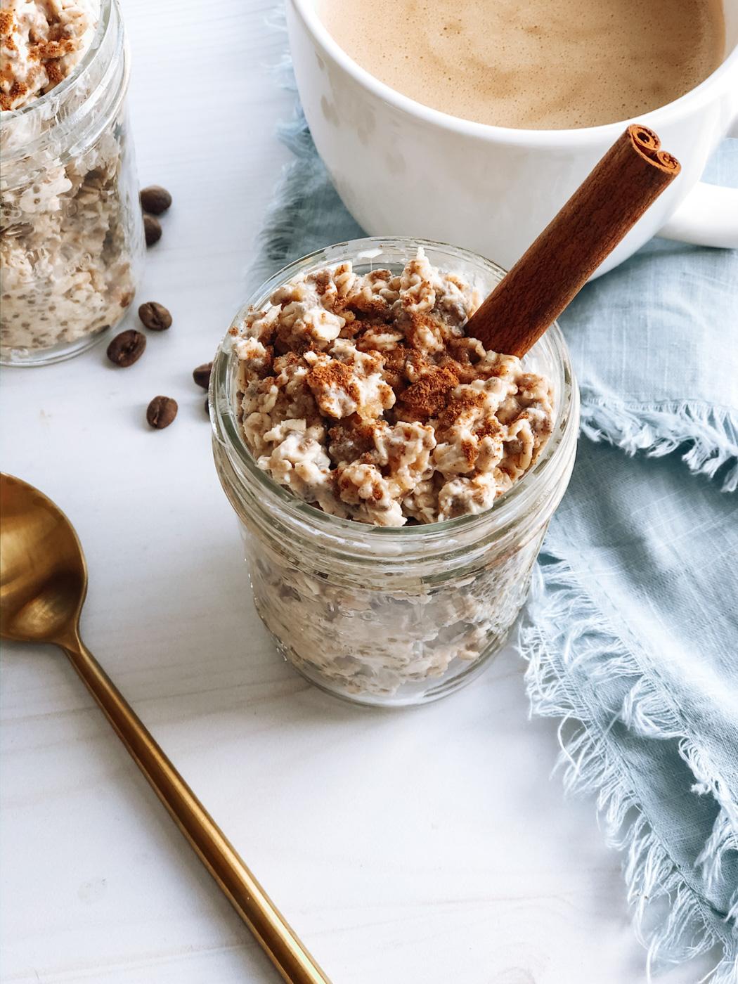 Chai Spiced Overnight Oats Recipe
