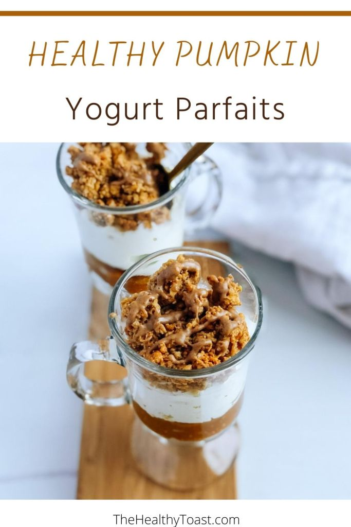 Healthy pumpkin yogurt parfait recipe